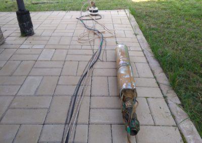 Замена скважинного насоса и мембраны гидроаккумулятора в КП Ярославская Голландия.