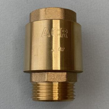 Обратный клапан ACR Латунь 1″ наружная-внутренняя