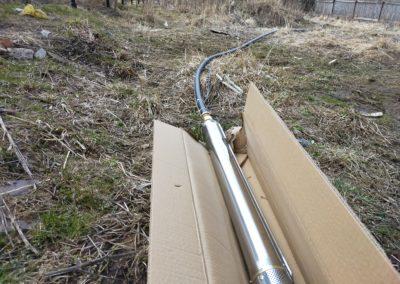 Подготовка скважинного насоса UNIPUMP mini ECO 1-72 к установке в скважину.